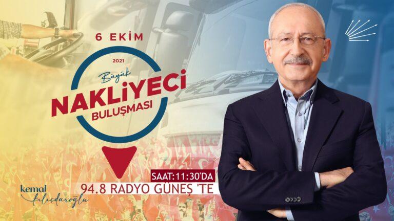 Kılıçdaroğlu Türkiye Nakliyecileriyle Buluştu